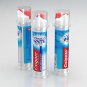 Colgate Advanced White Toothpaste 100ml 3d model