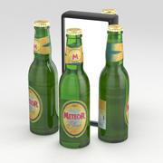 Beer Bottle Meteor Blonde 330ml 3d model