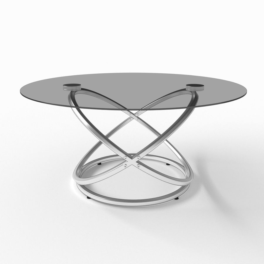 Cocktail tafel royalty-free 3d model - Preview no. 5
