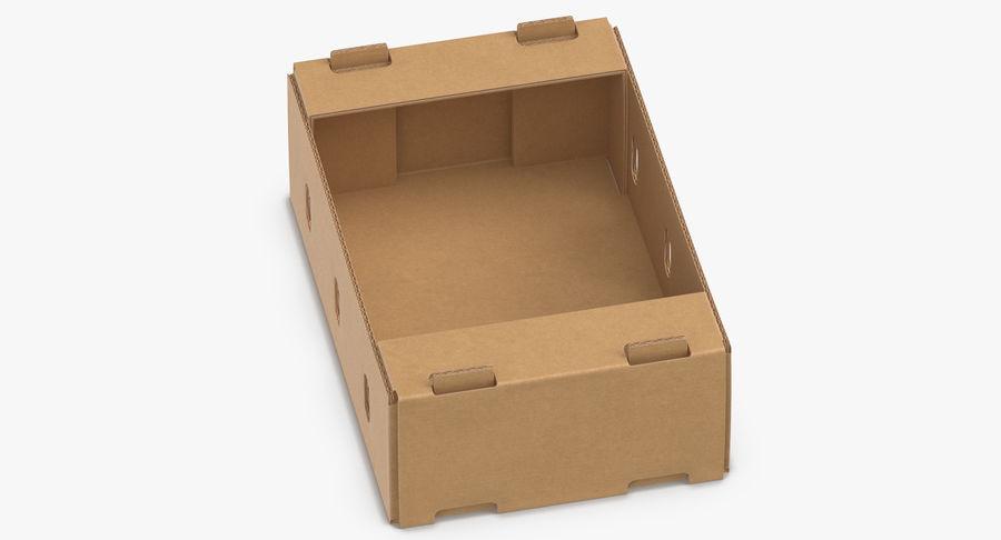 Carton présentoir 01 royalty-free 3d model - Preview no. 7