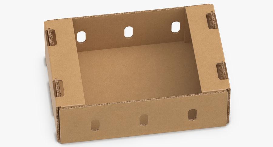 Carton présentoir 01 royalty-free 3d model - Preview no. 1