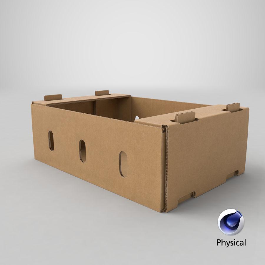 Carton présentoir 01 royalty-free 3d model - Preview no. 24