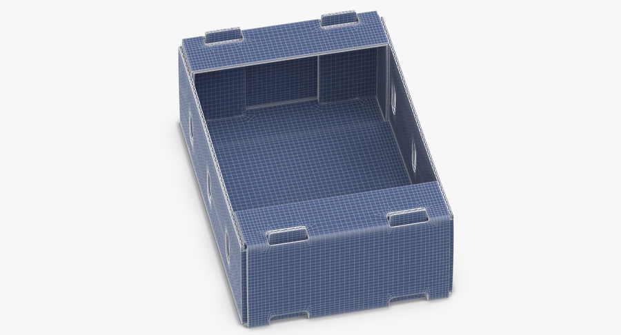 Carton présentoir 01 royalty-free 3d model - Preview no. 12