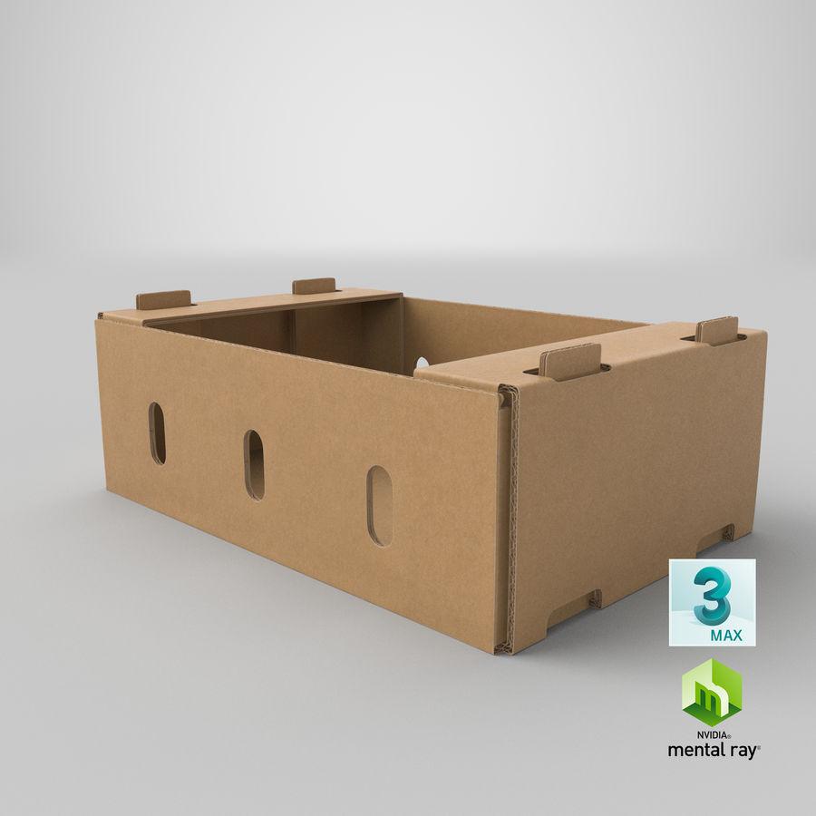 Carton présentoir 01 royalty-free 3d model - Preview no. 23