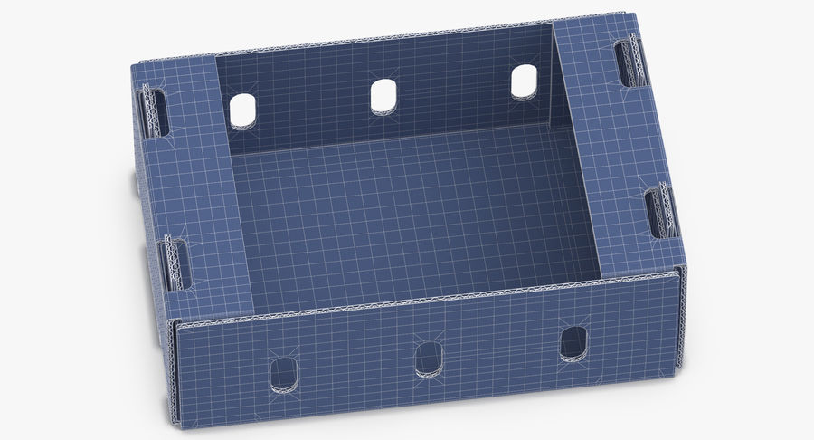 Carton présentoir 01 royalty-free 3d model - Preview no. 15