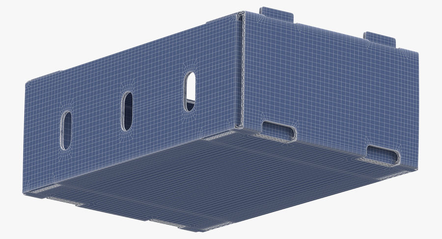 Carton présentoir 01 royalty-free 3d model - Preview no. 14