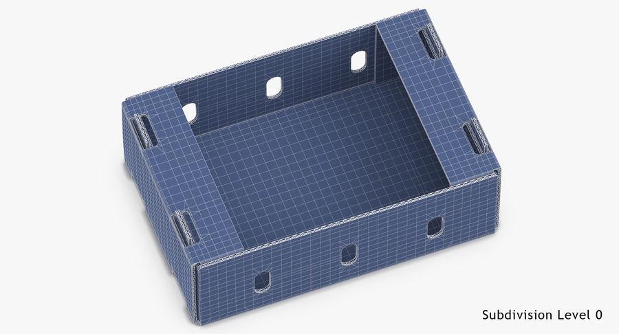Carton présentoir 01 royalty-free 3d model - Preview no. 17