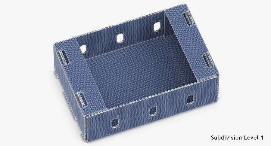 Carton présentoir 01 royalty-free 3d model - Preview no. 18