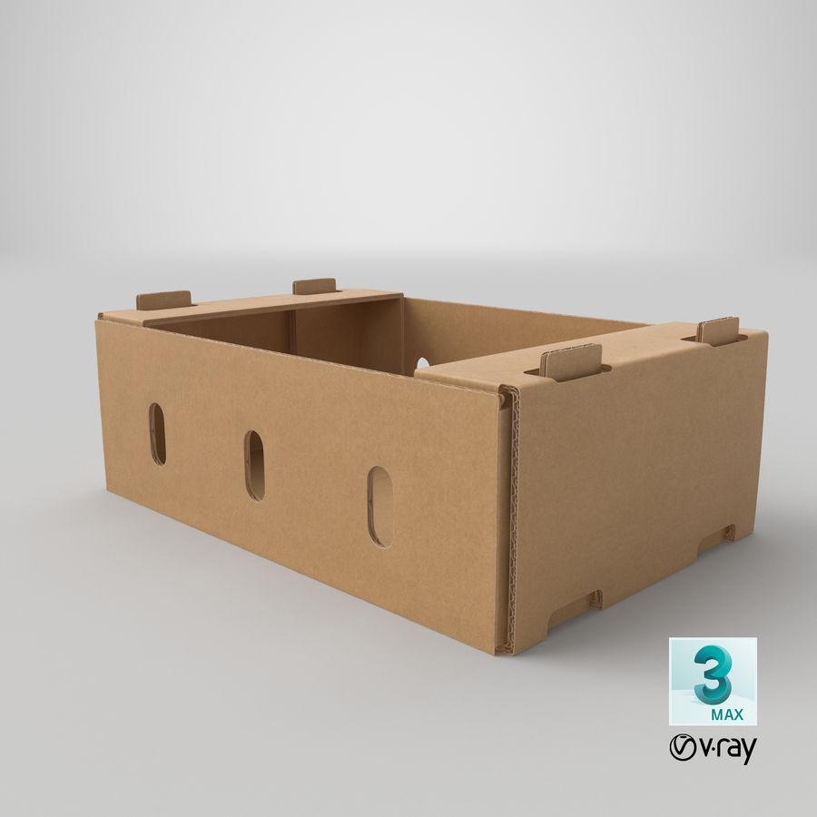 Carton présentoir 01 royalty-free 3d model - Preview no. 22