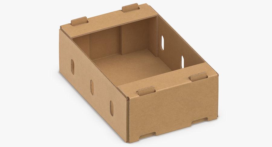 Carton présentoir 01 royalty-free 3d model - Preview no. 8