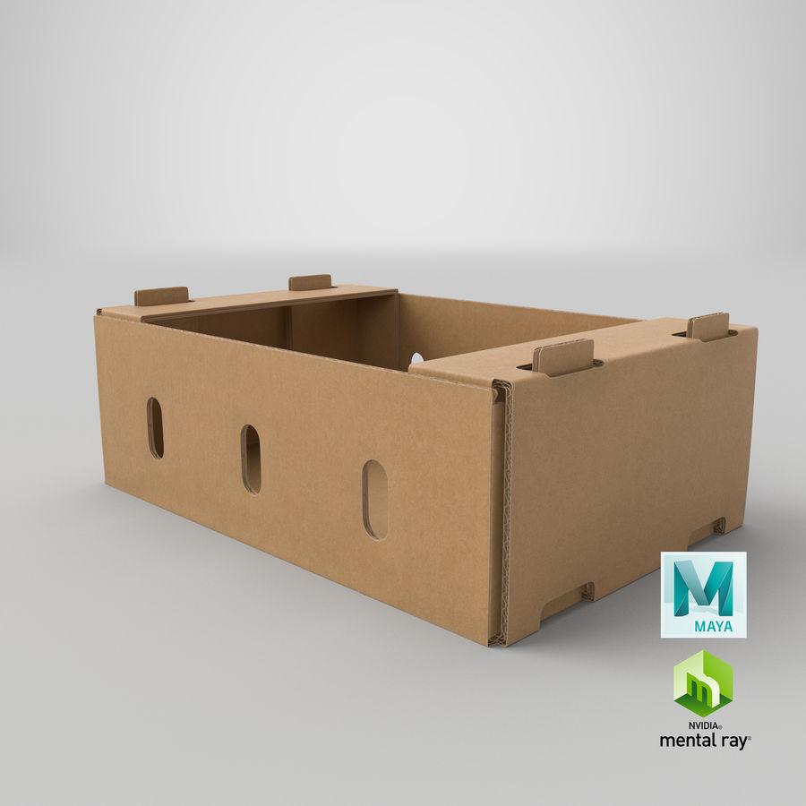 Carton présentoir 01 royalty-free 3d model - Preview no. 21