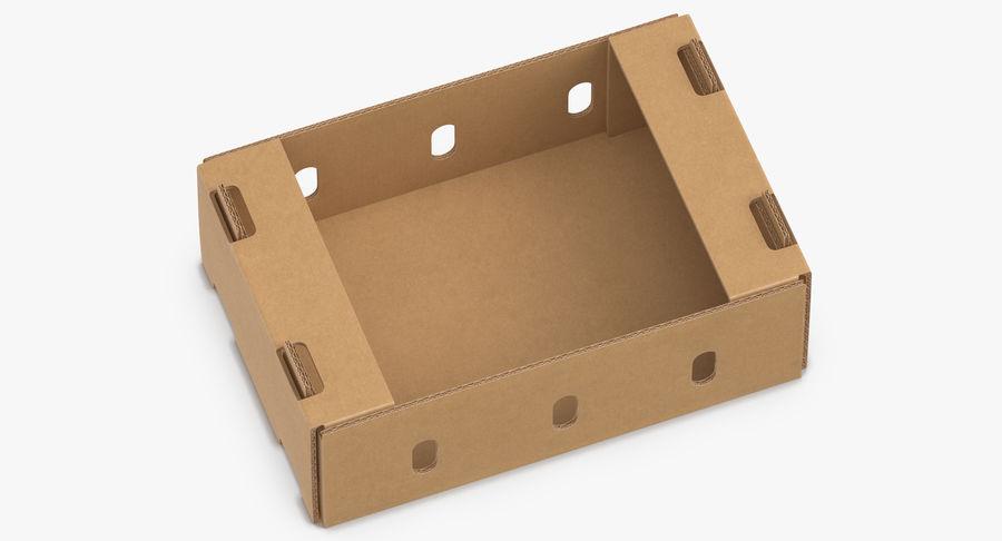 Carton présentoir 01 royalty-free 3d model - Preview no. 3