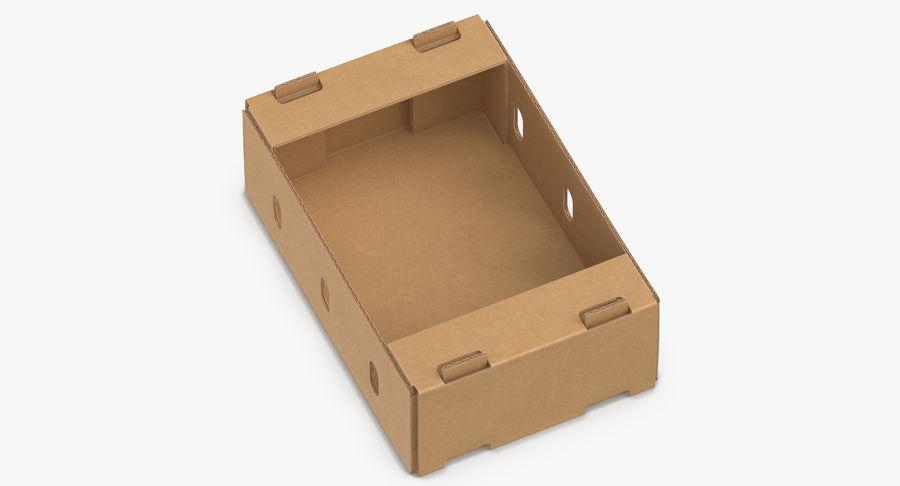 Carton présentoir 01 royalty-free 3d model - Preview no. 2