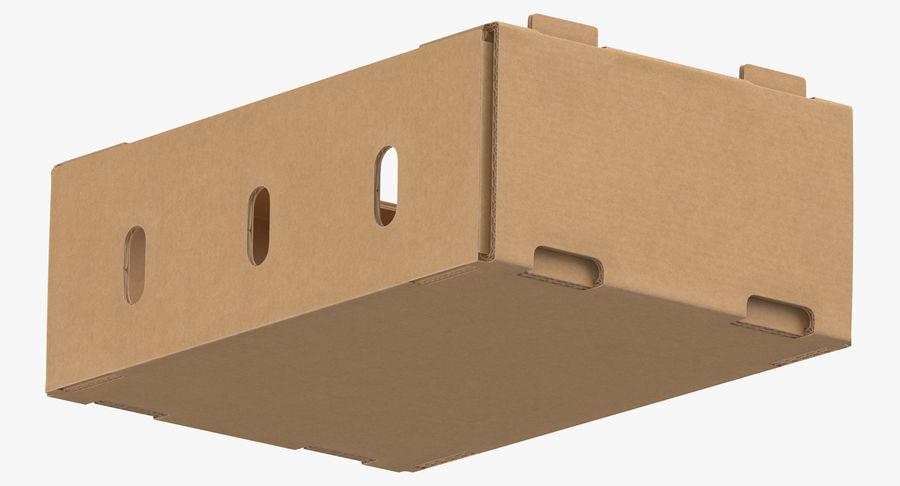 Carton présentoir 01 royalty-free 3d model - Preview no. 9
