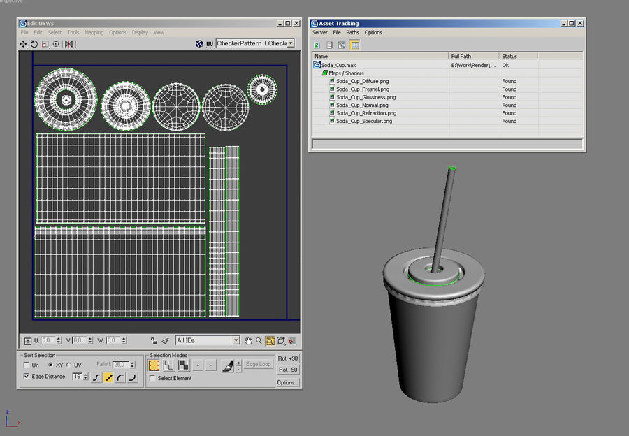 Soda Cup royalty-free 3d model - Preview no. 1