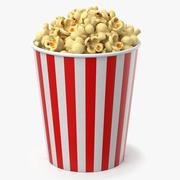 Popcorn Cup C 3d model