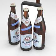 啤酒瓶爱丁格克里斯托尔500毫升 3d model