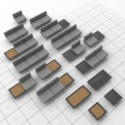 ДЖАТИ И КЕБОН - АРБОН 3d model