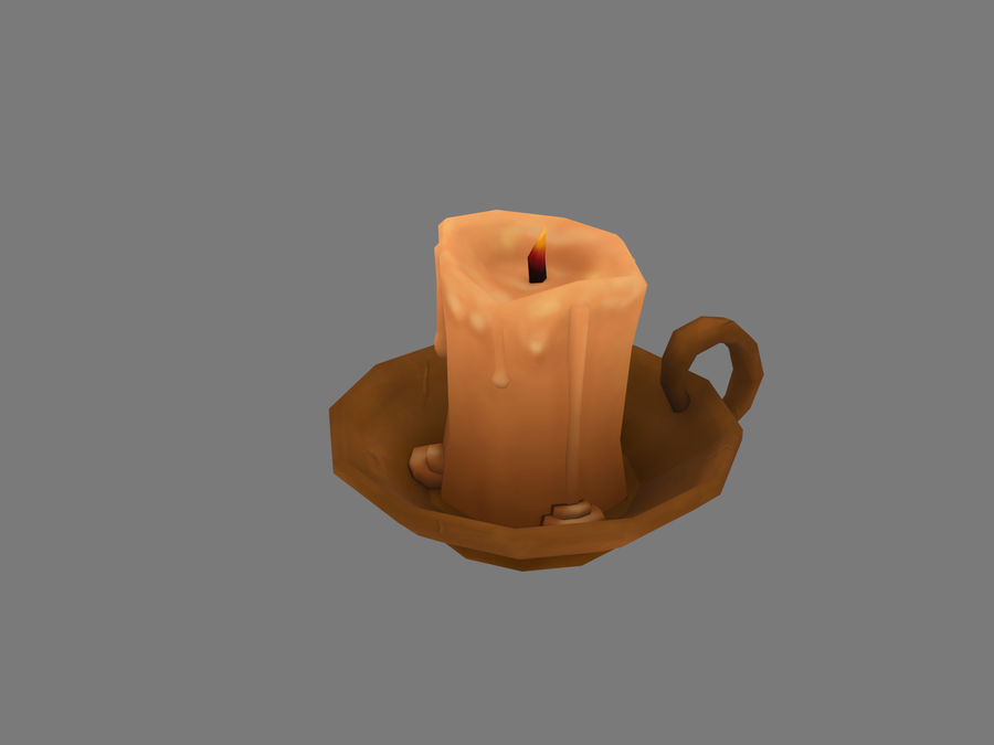 Candelabro royalty-free 3d model - Preview no. 1