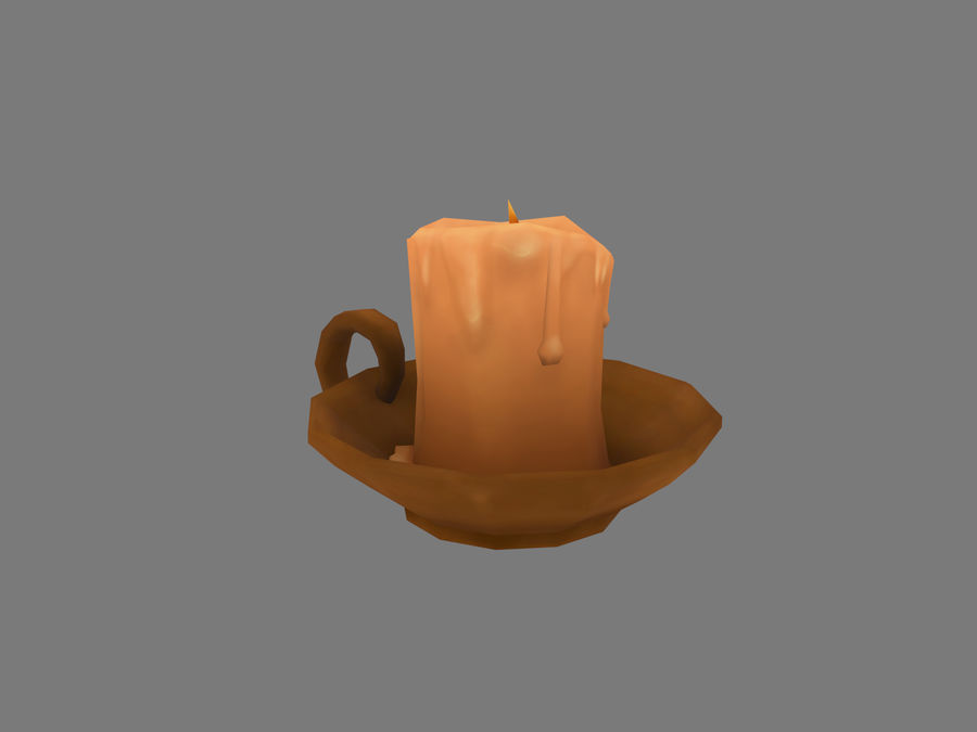 Candelabro royalty-free 3d model - Preview no. 4