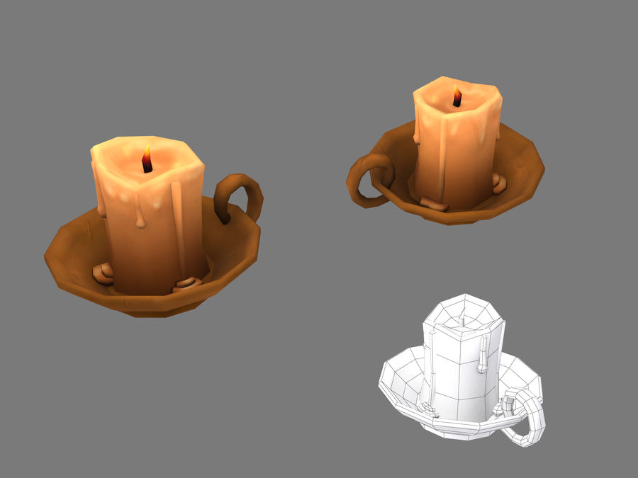 Candelabro royalty-free 3d model - Preview no. 7