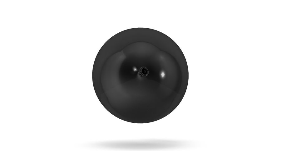 Balloon royalty-free 3d model - Preview no. 8