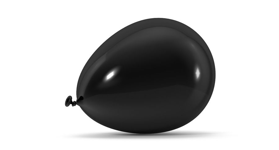 Balloon royalty-free 3d model - Preview no. 6