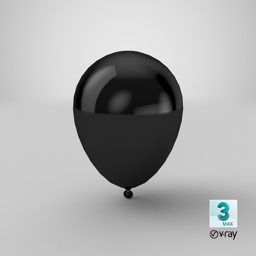 Balloon royalty-free 3d model - Preview no. 19