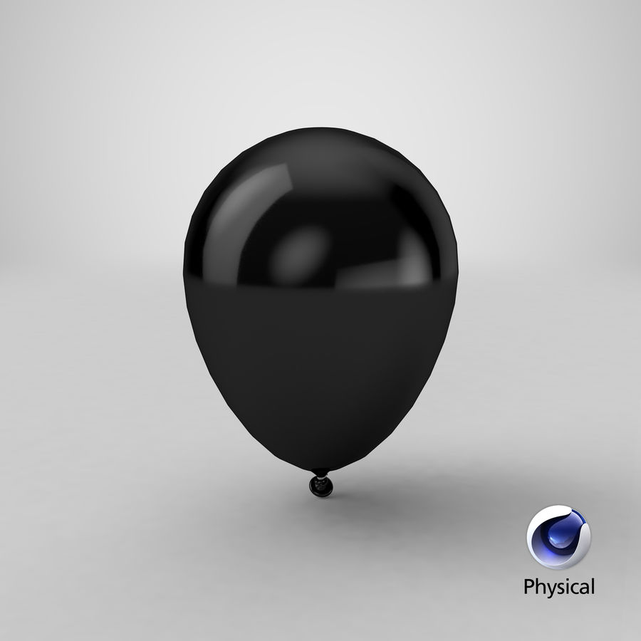 Balloon royalty-free 3d model - Preview no. 23