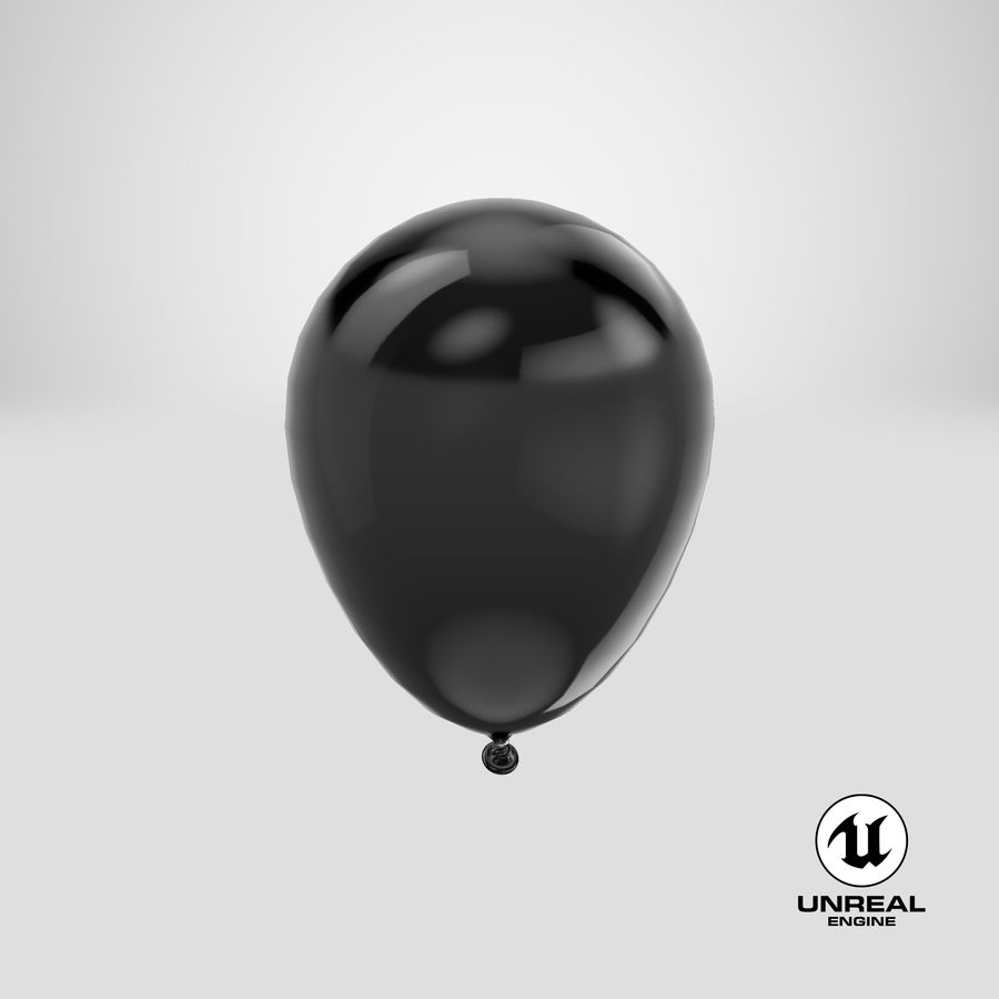 Balloon royalty-free 3d model - Preview no. 21