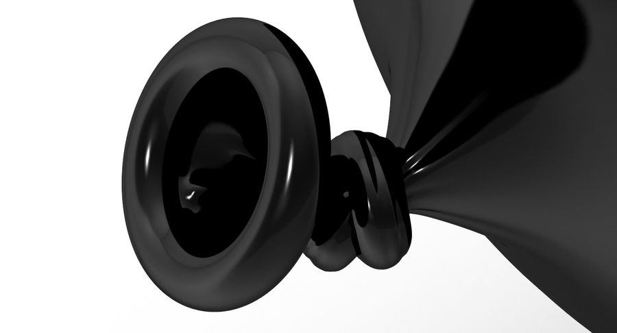 Balloon royalty-free 3d model - Preview no. 9