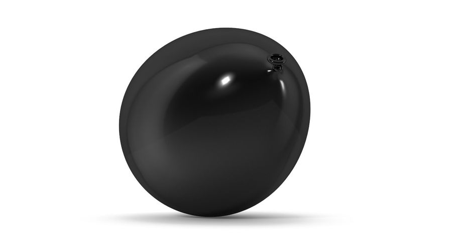 Balloon royalty-free 3d model - Preview no. 7