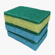 Sponges 01 3d model