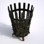 中世纪胸罩 3d model