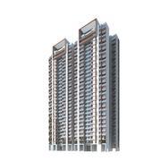 multi-storey houses 3d model