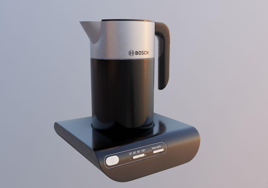 aparelho de cozinha chaleira elétrica royalty-free 3d model - Preview no. 17