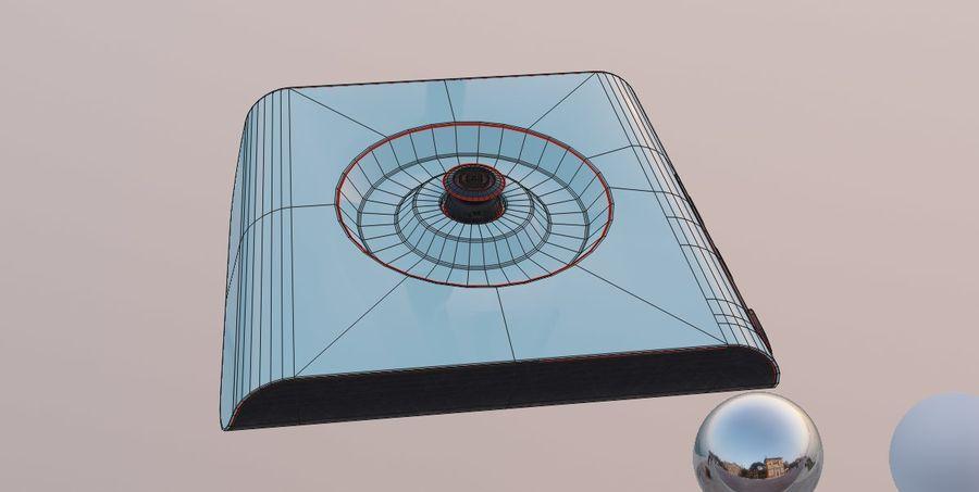 aparelho de cozinha chaleira elétrica royalty-free 3d model - Preview no. 16