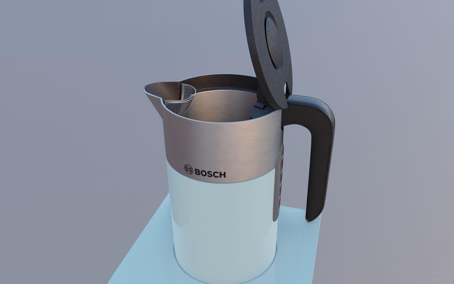 aparelho de cozinha chaleira elétrica royalty-free 3d model - Preview no. 6