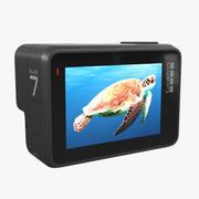 GoPro HERO 7 Siyah 3d model