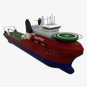 Судно Океан Буксир 3d model