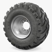 BKT FL630 Tire 3D Model 3d model