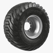 BKT Flotation V Line Tire 3D Model 3d model