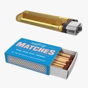 MatchboxおよびLighter 3D Modelsコレクション 3d model