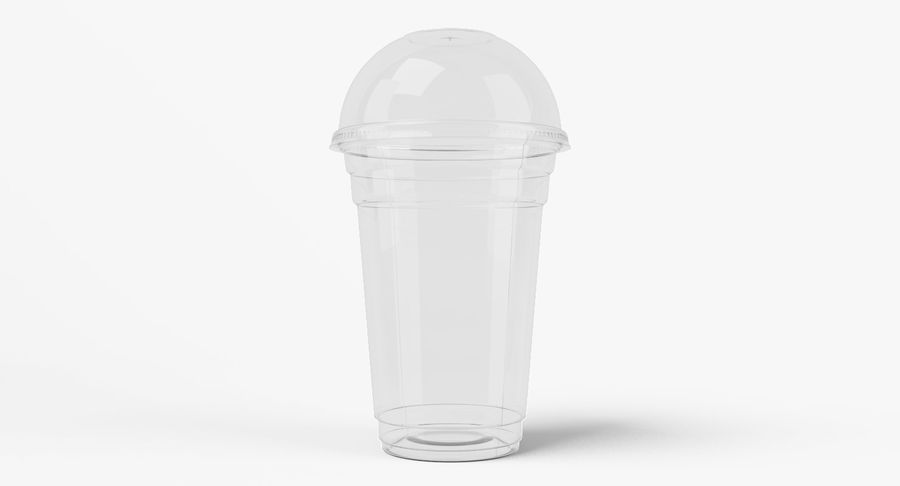 Smoothie Plastic Cup royalty-free 3d model - Preview no. 5