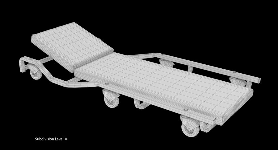 Car creepers Collection royalty-free 3d model - Preview no. 62