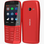 Nokia 210 2019 Czerwony 3d model