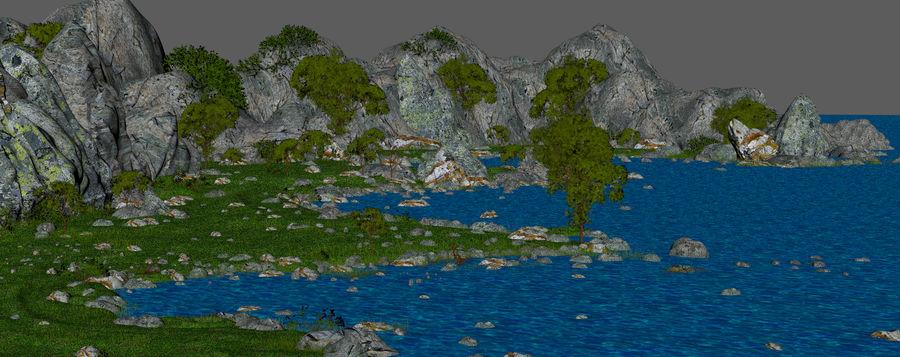 Environnement de paysage classique royalty-free 3d model - Preview no. 16
