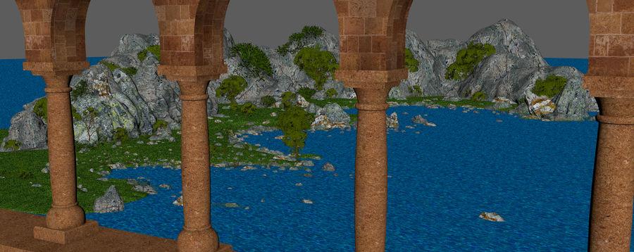 Environnement de paysage classique royalty-free 3d model - Preview no. 12