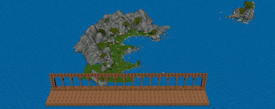 Environnement de paysage classique royalty-free 3d model - Preview no. 10