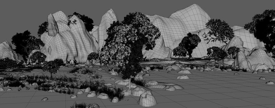 Environnement de paysage classique royalty-free 3d model - Preview no. 19